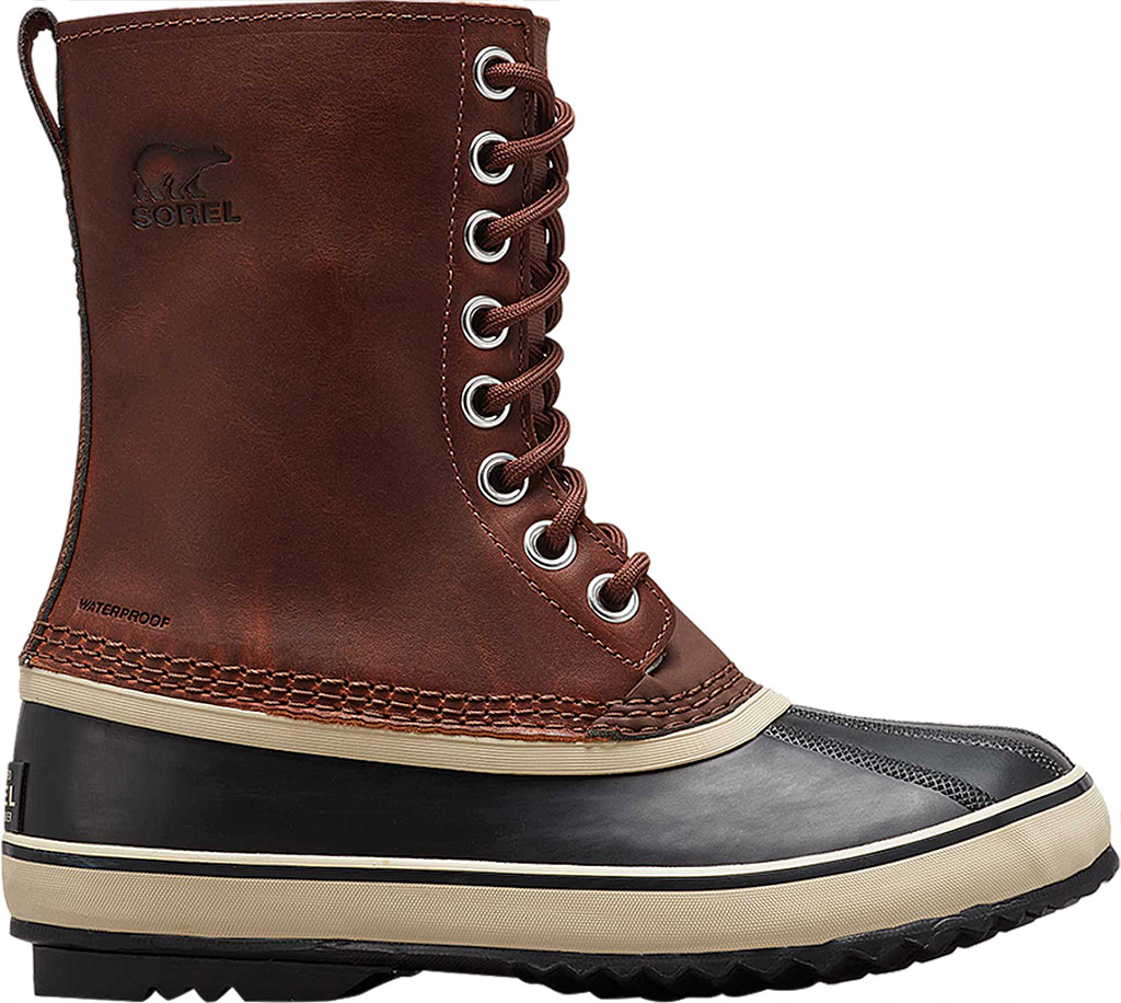 Women's Sorel 1964 LTR Duck Boot, Cappuccino/Oxford Tan, large, image 2