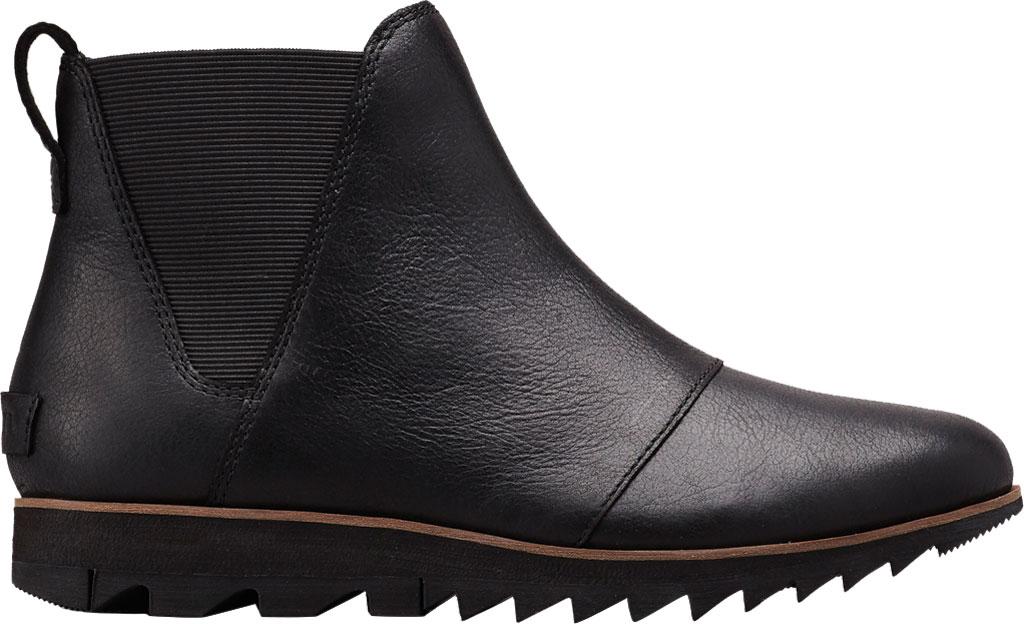 Women's Sorel Harlow Chelsea Boot, Black, large, image 1