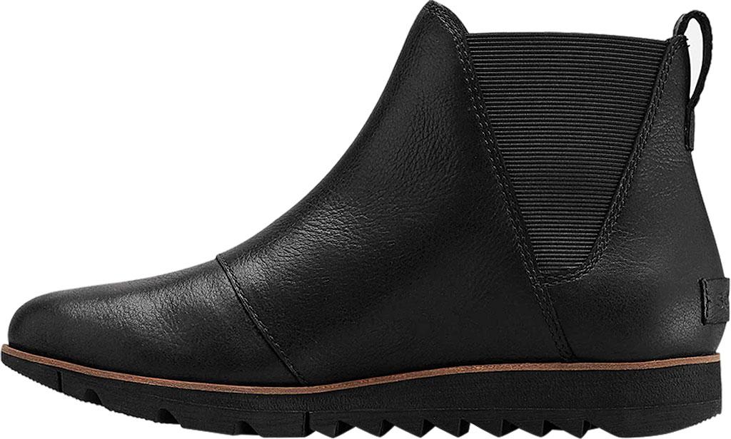 Women's Sorel Harlow Chelsea Boot, Black, large, image 3