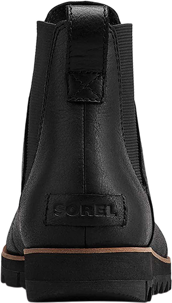 Women's Sorel Harlow Chelsea Boot, Black, large, image 4