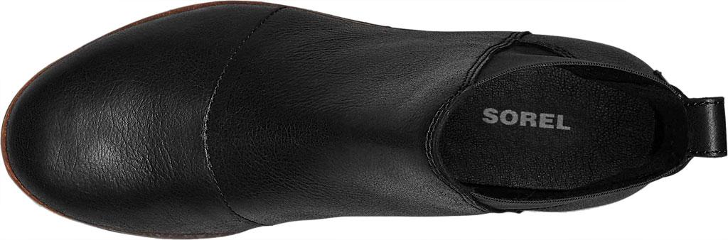 Women's Sorel Harlow Chelsea Boot, Black, large, image 5
