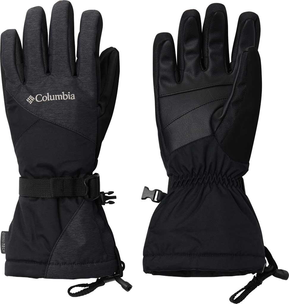 Women's Columbia Whirlibird Waterproof Glove, Black, large, image 1