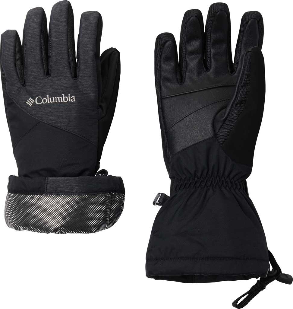 Women's Columbia Whirlibird Waterproof Glove, Black, large, image 2