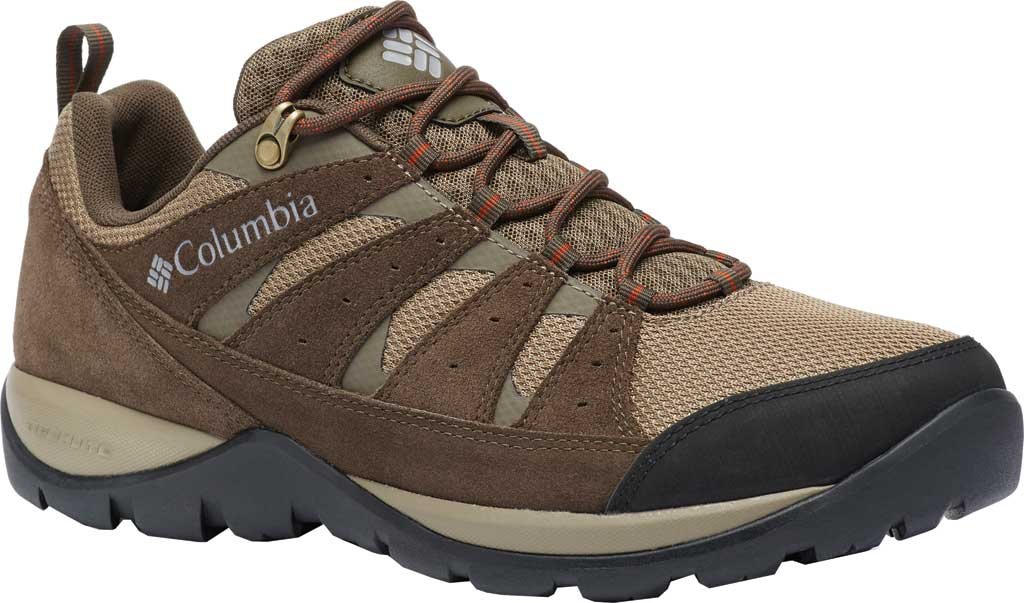 Men's Columbia Redmond V2 Hiking Shoe, Pebble/Dark Adobe, large, image 1