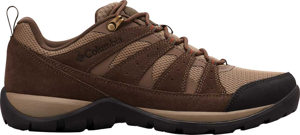Men's Columbia Redmond V2 Hiking Shoe, Pebble/Dark Adobe, large, image 2