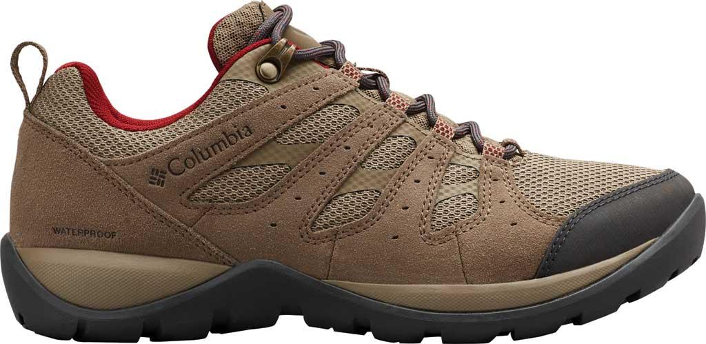 Women's Columbia Redmond V2 Waterproof Hiking Shoe, Pebble/Beet, large, image 2