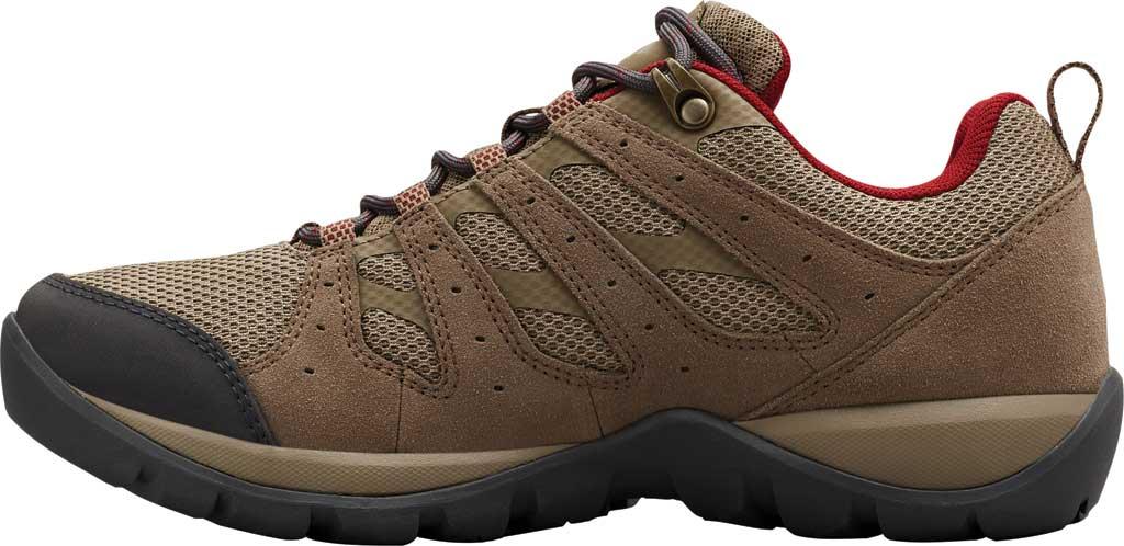 Women's Columbia Redmond V2 Waterproof Hiking Shoe, Pebble/Beet, large, image 3