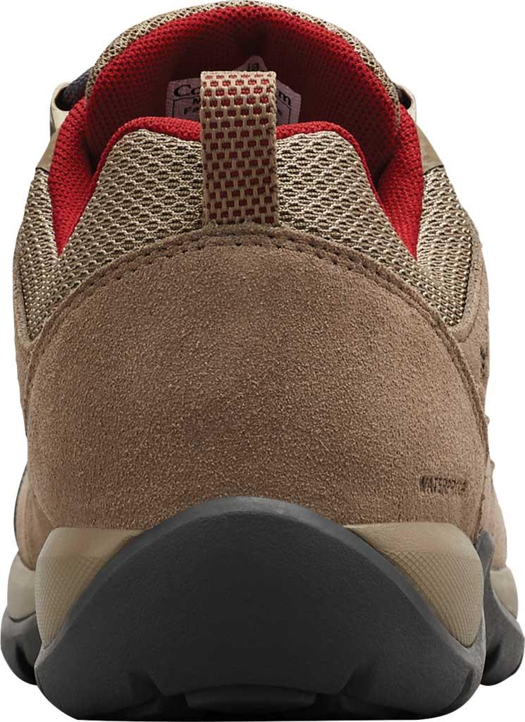 Women's Columbia Redmond V2 Waterproof Hiking Shoe, Pebble/Beet, large, image 4