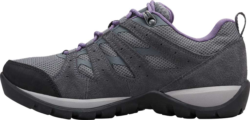 Women's Columbia Redmond V2 Waterproof Hiking Shoe, Ti Grey Steel/Plum Purple, large, image 3