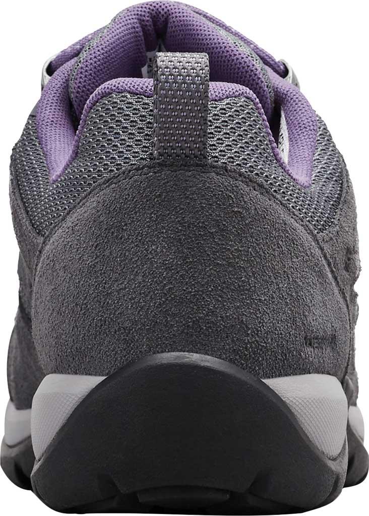 Women's Columbia Redmond V2 Waterproof Hiking Shoe, Ti Grey Steel/Plum Purple, large, image 4