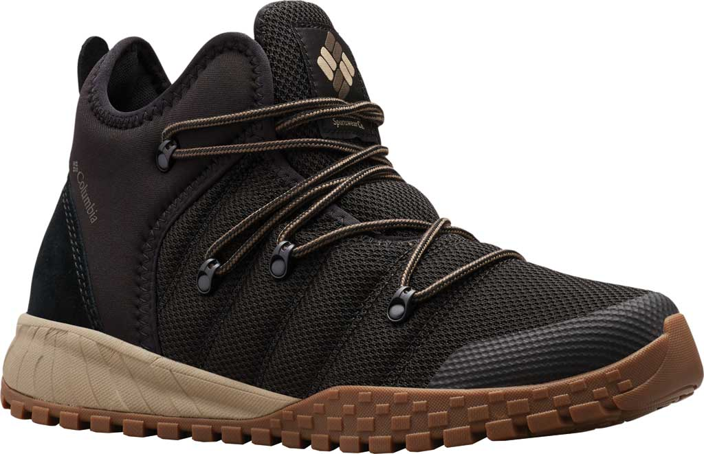 Men's Columbia Fairbanks 503 Sneaker, Black/Mud, large, image 1