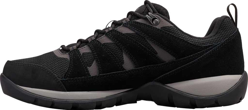 Men's Columbia Redmond V2 Waterproof Hiking Shoe, Black/Dark Grey, large, image 3