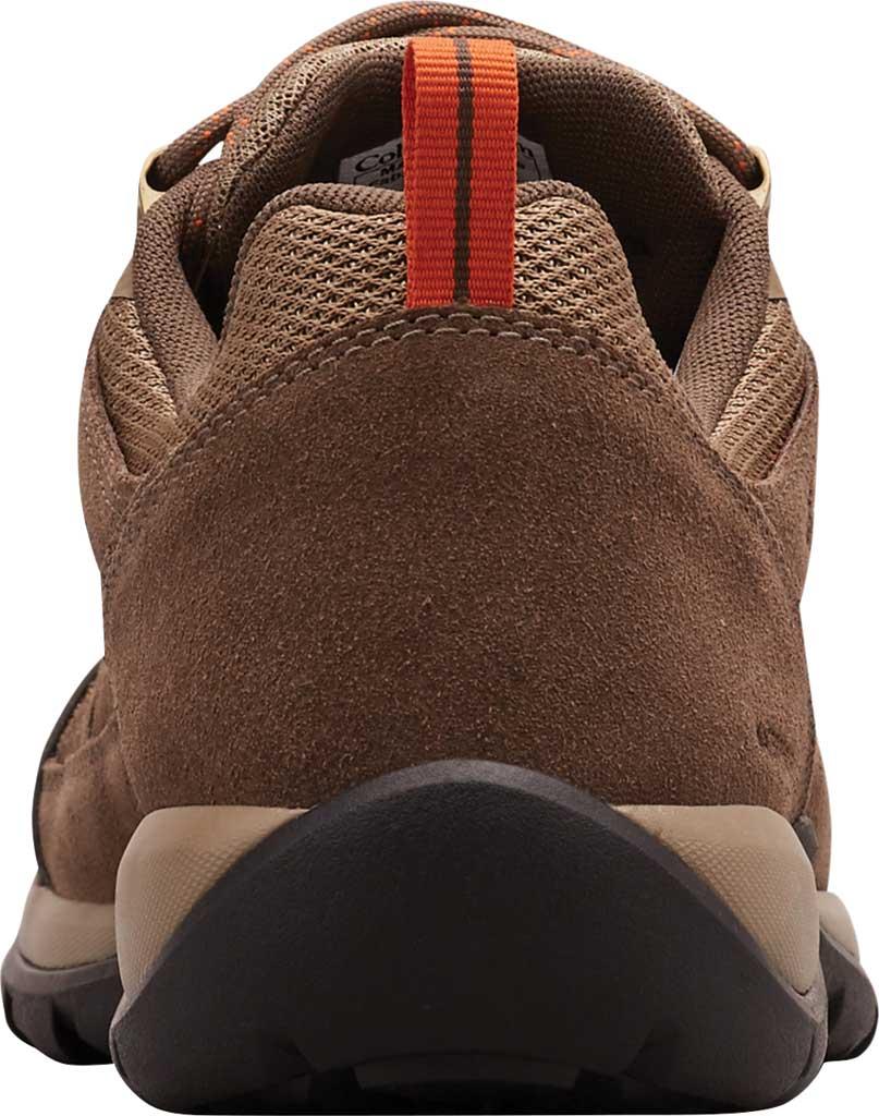 Men's Columbia Redmond V2 Waterproof Hiking Shoe, Pebble/Desert Sun, large, image 4