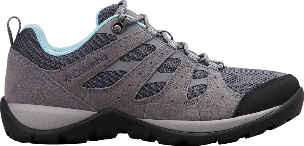 Women's Columbia Redmond V2 Hiking Shoe, Graphite/Blue Oasis, large, image 2