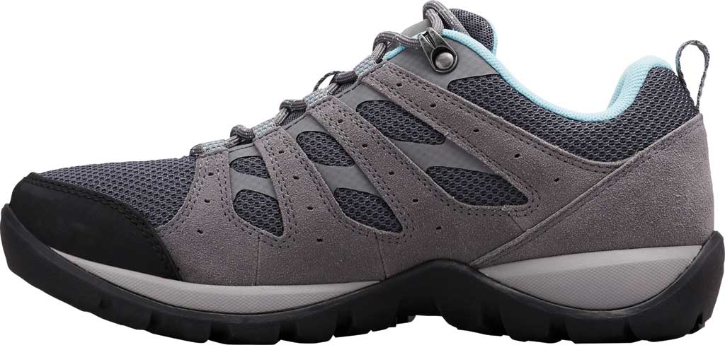 Women's Columbia Redmond V2 Hiking Shoe, Graphite/Blue Oasis, large, image 3