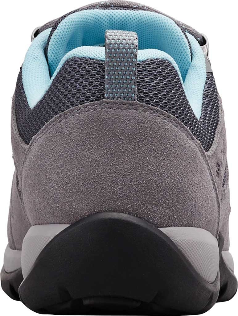 Women's Columbia Redmond V2 Hiking Shoe, Graphite/Blue Oasis, large, image 4