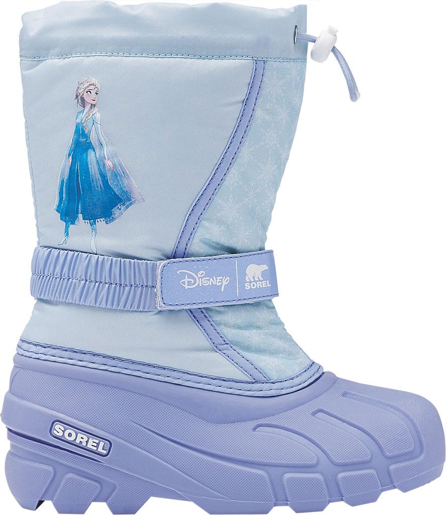 Children's Sorel Disney x Sorel Flurry Frozen Elsa- Big Kid, Frosted Purple Textile, large, image 2