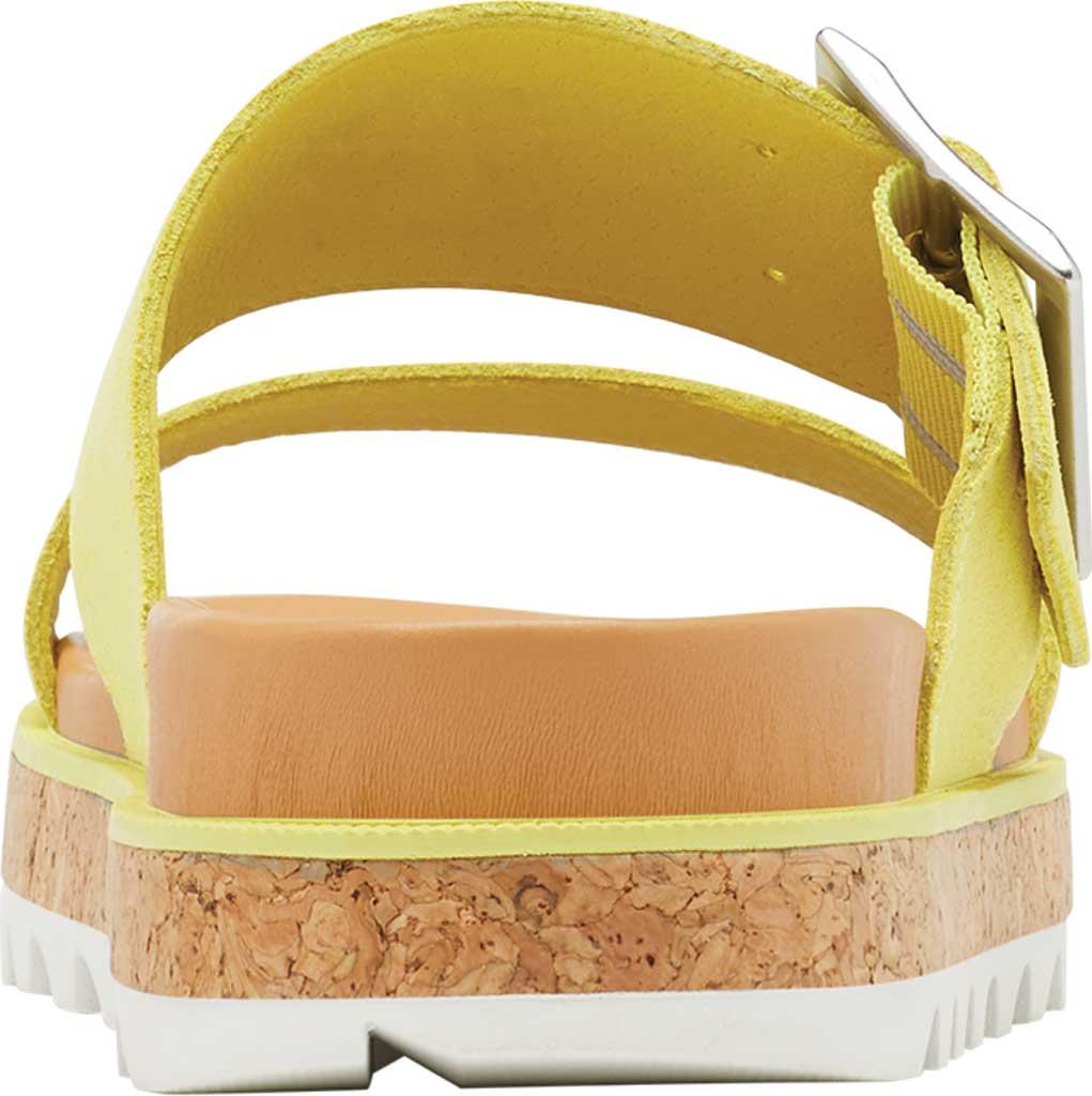 Women's Sorel Roaming Buckle Slide, Sunnyside Suede, large, image 4