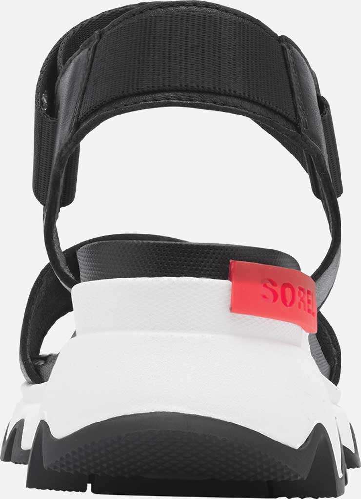 Women's Sorel Kinetic Active Sandal, Black Full Grain Leather/Textile, large, image 4