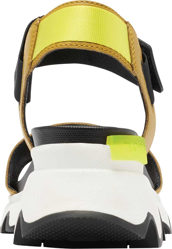 Women's Sorel Kinetic Active Sandal, Dioxide Gold Full Grain Leather/Textile, large, image 4