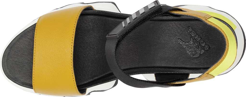 Women's Sorel Kinetic Active Sandal, Dioxide Gold Full Grain Leather/Textile, large, image 5