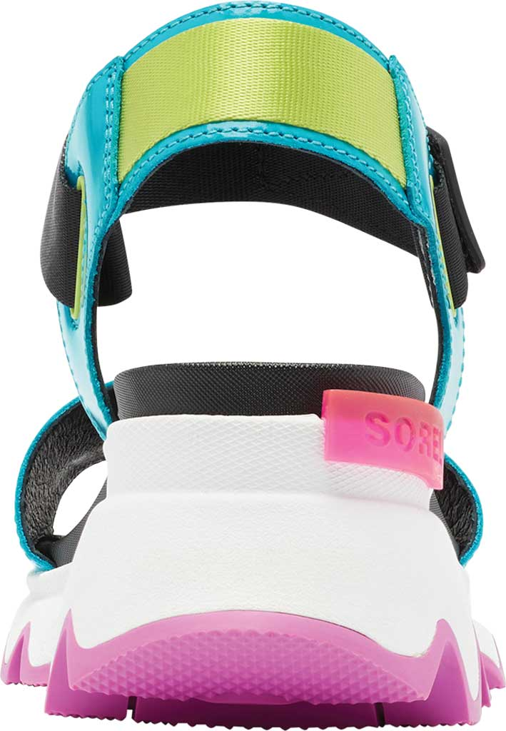 Women's Sorel Kinetic Active Sandal, Spring Aqua Full Grain Leather/Textile, large, image 4