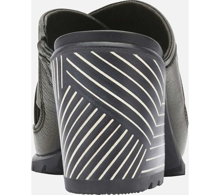 Women's Sorel Nadia Slide, Black Full Grain Leather, large, image 4