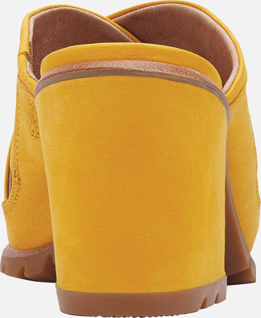 Women's Sorel Nadia Slide, Golden Yellow Nubuck, large, image 4