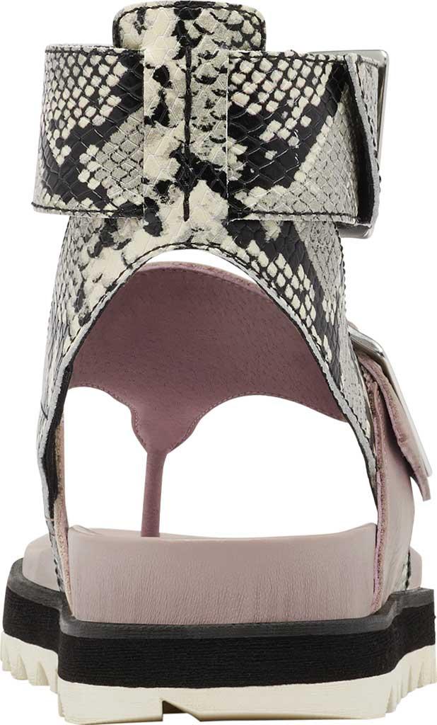 Women's Sorel Roaming Thong Sandal, Mauve Vapor Full Grain Leather, large, image 4