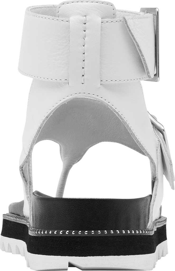 Women's Sorel Roaming Thong Sandal, Sea Salt/Studded Full Grain Leather, large, image 4