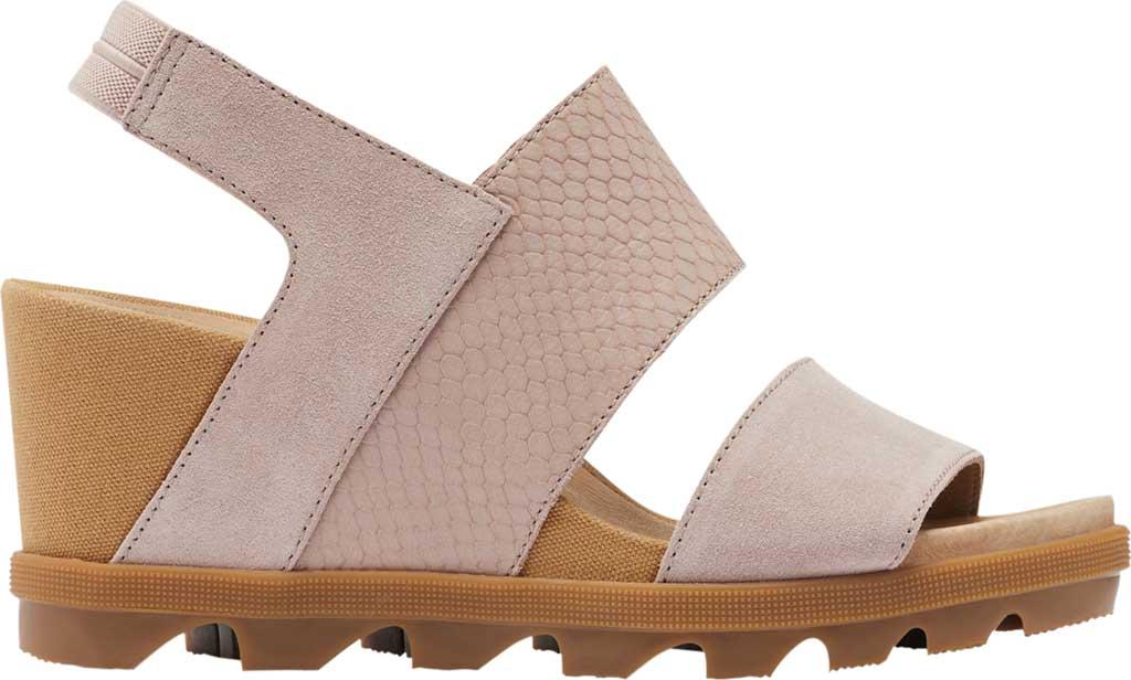 Women's Sorel Joanie II Wedge Heeled Slingback, Mauve Vapor Full Grain Leather/Suede, large, image 2