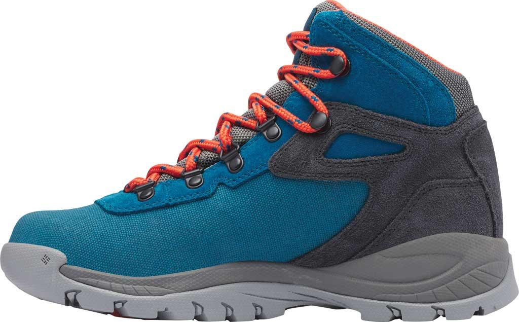 Women's Columbia Newton Ridge LT Waterproof Boot, Dark Turquoise/Zing, large, image 3