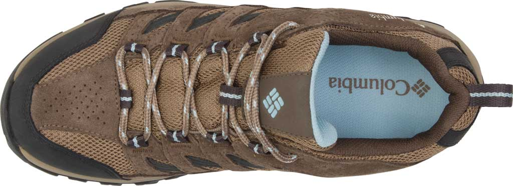 Women's Columbia Crestwood Waterproof Hiking Shoe, Pebble/Oxygen, large, image 4