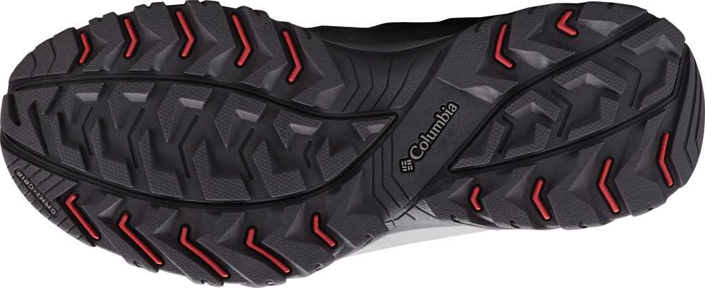 Women's Columbia Crestwood Mid Waterproof Hiking Boot, Graphite/Daredevil, large, image 6
