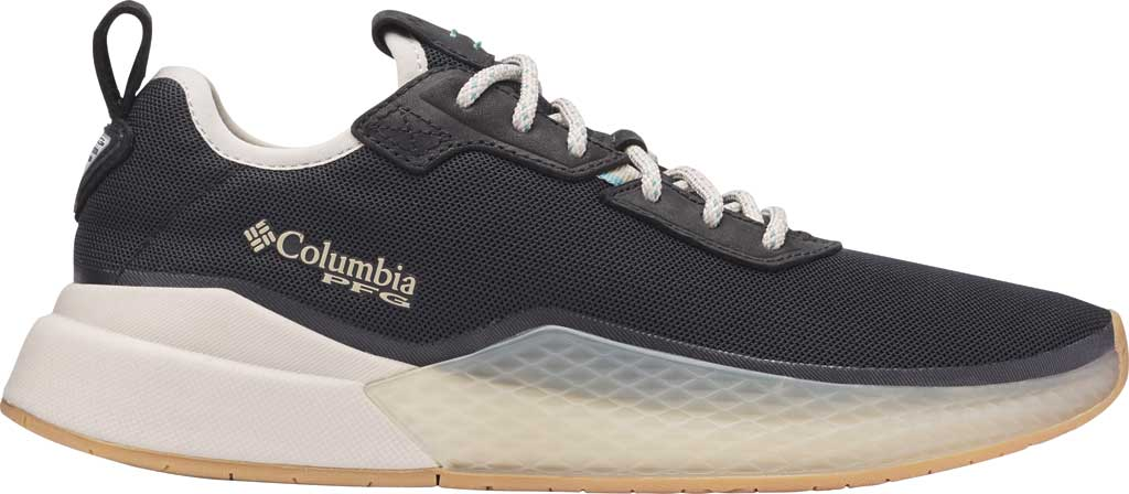 Women's Columbia Low Drag PFG Sneaker, Black/Copper Ore, large, image 2