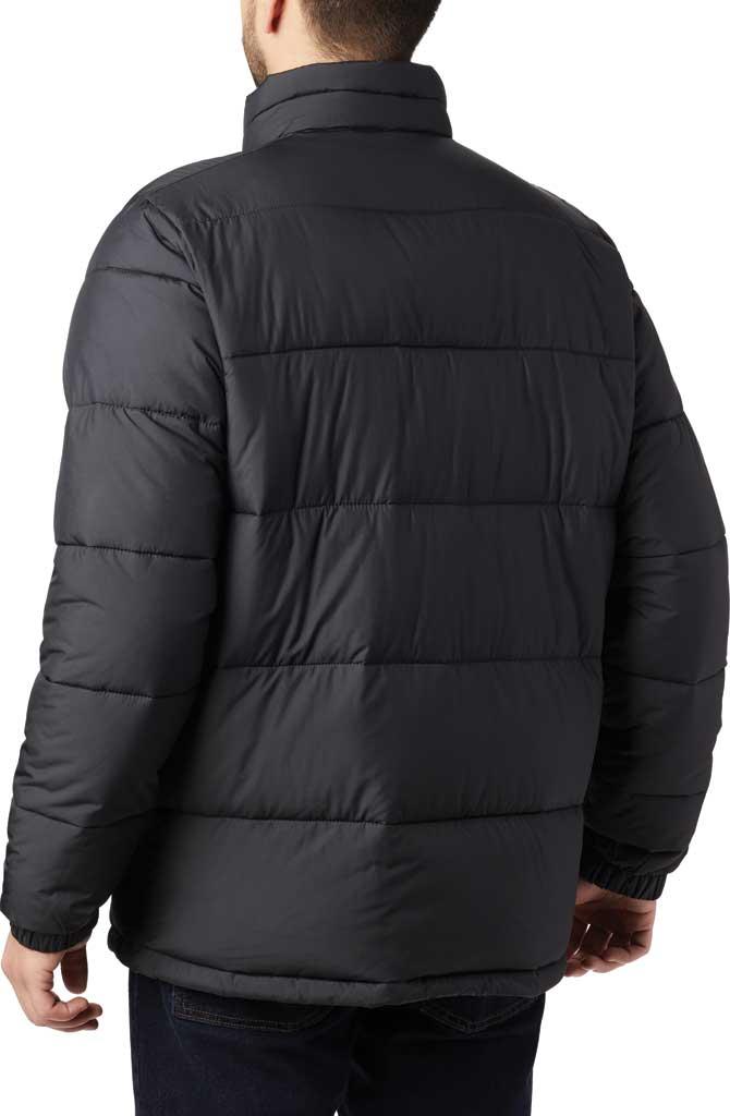 Men's Columbia Pike Lake Down Jacket, Black, large, image 4