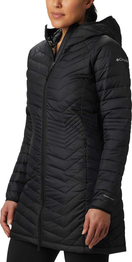 Women's Columbia Powder Lite Mid Down Jacket, Black, large, image 1