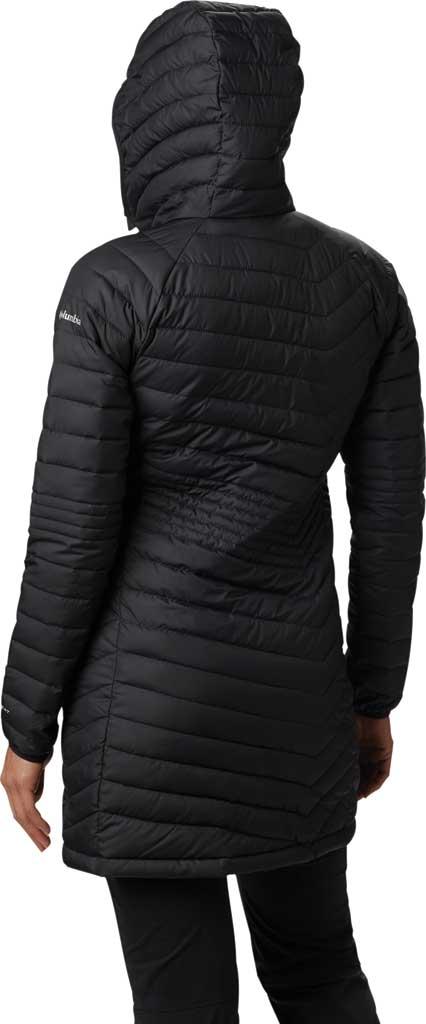Women's Columbia Powder Lite Mid Down Jacket, Black, large, image 2