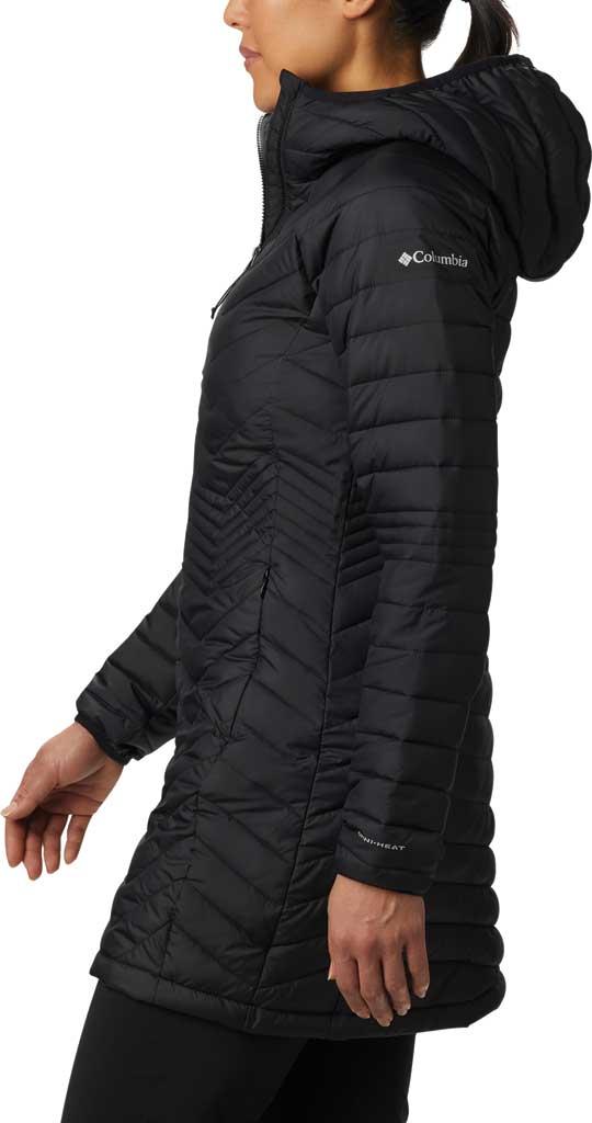 Women's Columbia Powder Lite Mid Down Jacket, Black, large, image 3