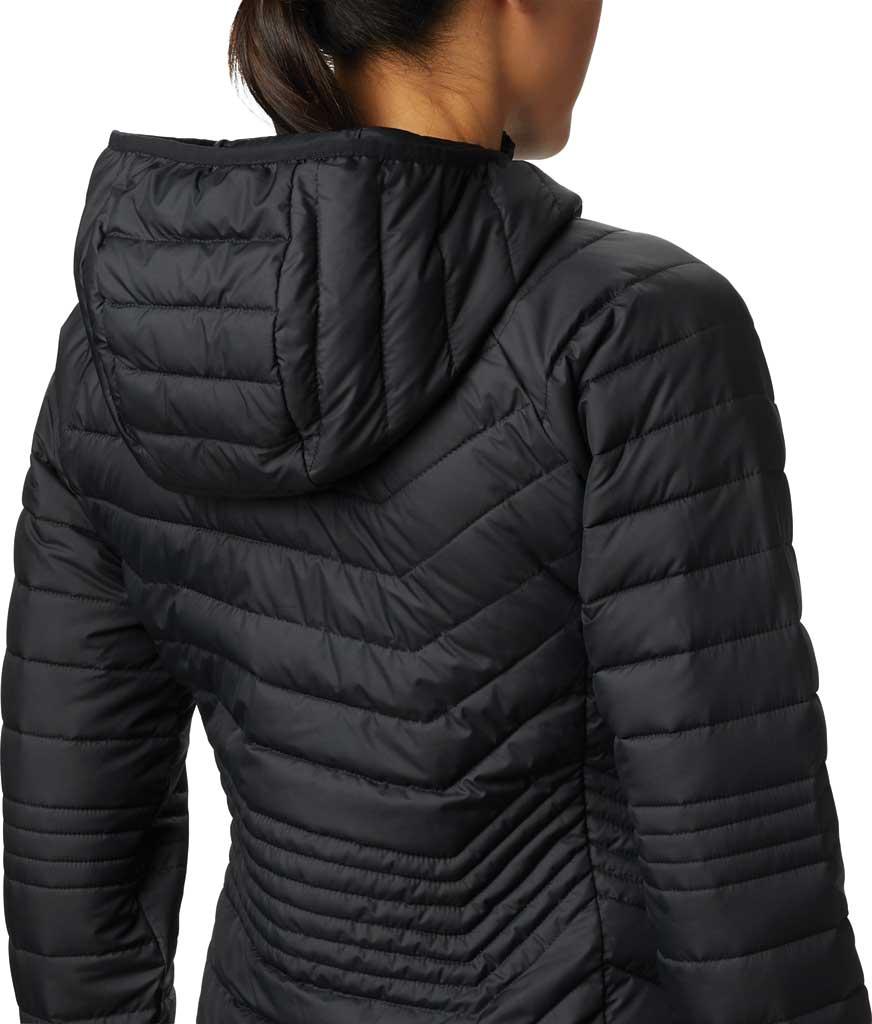Women's Columbia Powder Lite Mid Down Jacket, Black, large, image 4