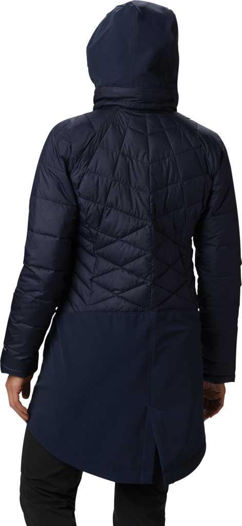 Women's Columbia Heavenly Long Hybrid Jacket, Dark Nocturnal, large, image 2