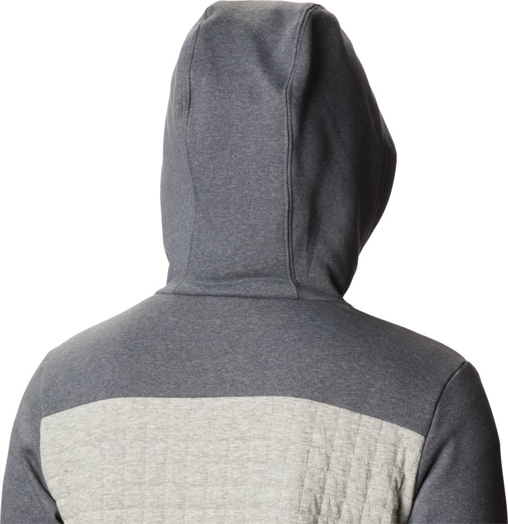 Women's Columbia Sunday Summit Hooded Pullover, Grey Ash Heather, large, image 4