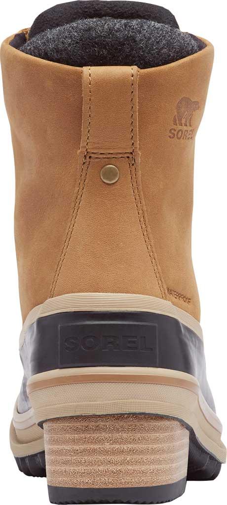 Women's Sorel Slimpack III Lace Waterproof Duck Boot, Elk Waterproof Full Grain Leather/Wool, large, image 4