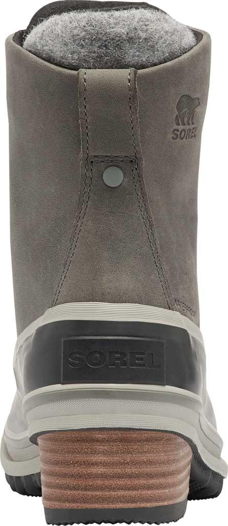 Women's Sorel Slimpack III Lace Waterproof Duck Boot, Quarry Waterproof Full Grain Leather/Wool, large, image 4