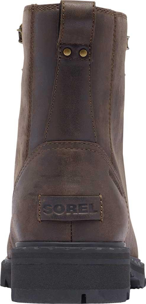 Women's Sorel Lennox Lace Cozy Waterproof Boot, Blackened Brown Waterproof Full Grain Leather, large, image 4