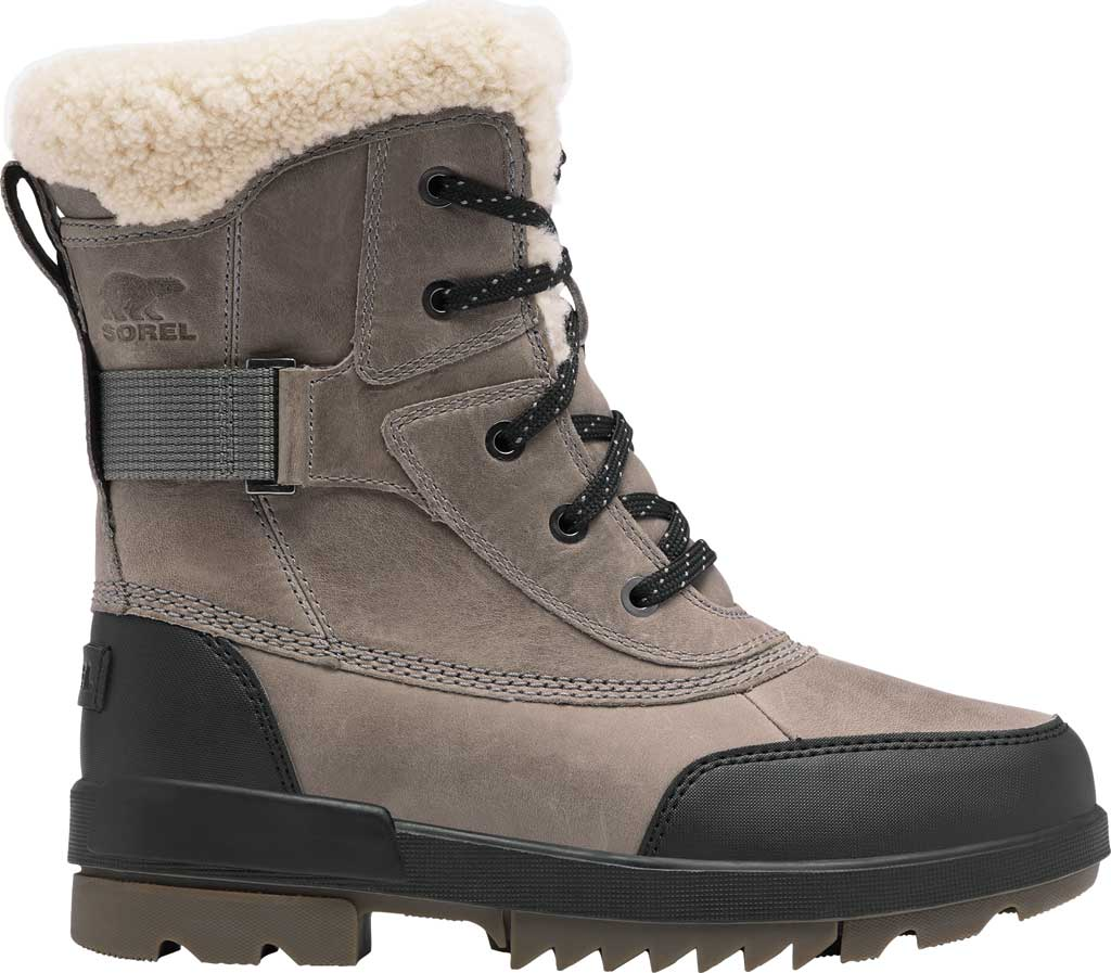 Women's Sorel Tivoli IV Parc Waterproof Boot, Quarry Waterproof Full Grain Leather/Shearling, large, image 2