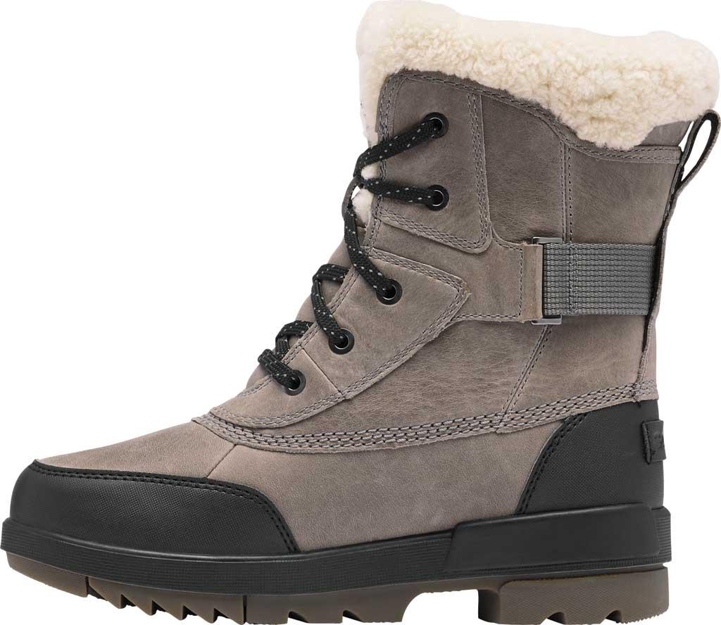 Women's Sorel Tivoli IV Parc Waterproof Boot, Quarry Waterproof Full Grain Leather/Shearling, large, image 3