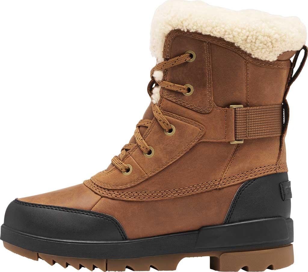 Women's Sorel Tivoli IV Parc Waterproof Boot, Velvet Tan Waterproof Full Grain Leather/Shearling, large, image 3