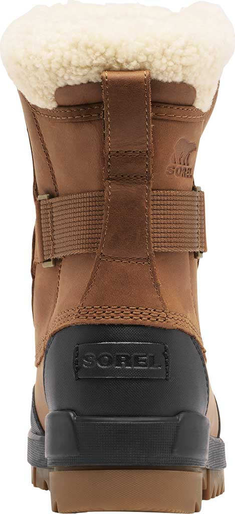 Women's Sorel Tivoli IV Parc Waterproof Boot, Velvet Tan Waterproof Full Grain Leather/Shearling, large, image 4