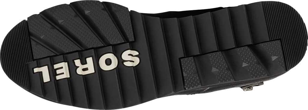 Women's Sorel Harlow Zip Waterproof Boot, Black Waterproof Full Grain Leather, large, image 6